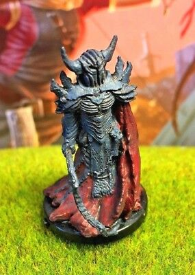 Scourge Hellknight D&D Miniature Dungeons Dragons pathfinder death knight 19 -