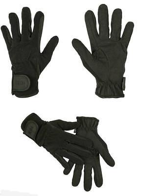 al  Hochwertig auch für Kinder hkm 1225 schwarz Neu (Schwarze Handschuhe Für Kinder)