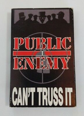 Public Enemy Can't Truss It Classic Hip Hop Rap Cassette Single Almighty Raw Mix