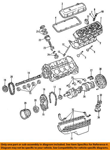 GM OEM-Engine Connecting Rod 19170201