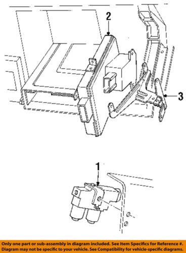 Details About FORD OEM Brake Proportioning Valve F87Z2B373AE