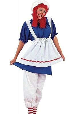 Deluxe Rag Doll Costume Adult Raggedy Ann Anne - Xl Rag Doll Kostüm