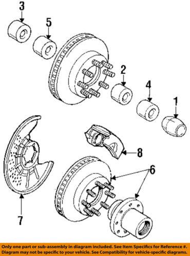 #6 on diagram only-genuine oe factory original item