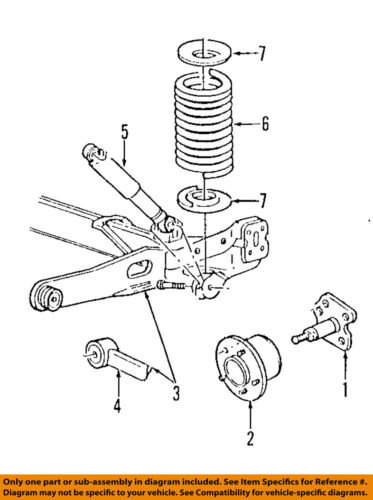 Ford Oem 9597 Windstar Rear Suspensionhub Assembly F58z1109a Ebay. Ford Oem 9597 Windstar Rear Suspensionhub Assembly F58z1109a. Ford. 2003 Ford Windstar Rear Suspension Diagram At Scoala.co