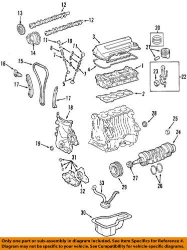 TOYOTA OEM 03-08 Corolla-Engine Timing Damper 135610D010 | eBayeBay