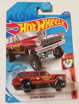 2020 Hot Wheels '64 Nova Wagon Gasser * J Case * NIP 1:64 Scale