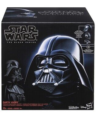 Star Wars ~ The Black Series ~ Premium Electronic Darth Vader Helmet ~ Free Ship