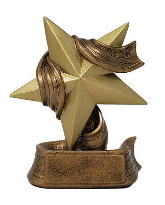 Star Trophy ⭐ Gold Star Award ⭐ Employee Superstar Recognition -by DECADE AWARDS