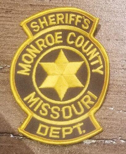 MONROE COUNTY MISSOURI PATCH SHERIFF DEPT