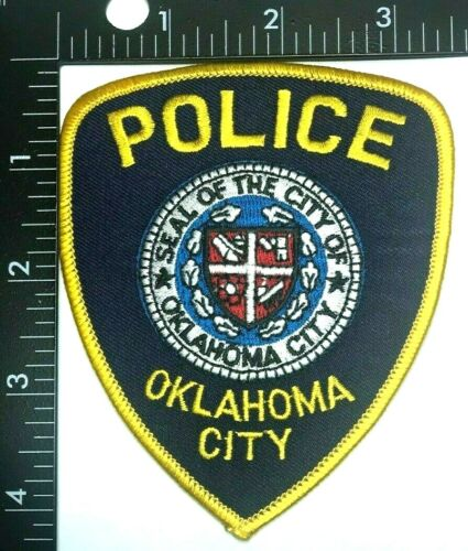 OKLAHOMA CITY OKLAHOMA POLICE DEPARTMENT PATCH (PD 8) SHOULDER INSIGNIA