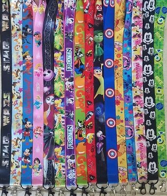 PICK ONE! DISNEY WORLD LANYARD FOR PIN TRADING! CARS MONSTERS TINKERBELLE! - Disney Cars Lanyards