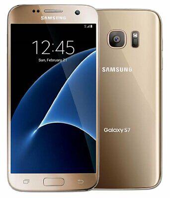 New Open Box GSM  Unlocked Samsung Galaxy S7 G930 32GB Gold AT&T T-Mobile LTE