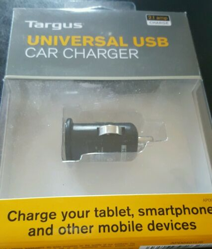 New Targus Auto Adapter Universal USB Car Charger Tablets Mobile Ipad Smartphone - $9.99