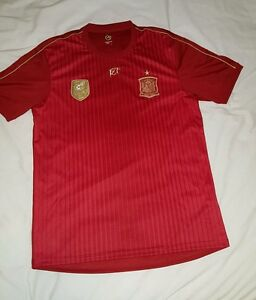 Spain (Espana) Official World Cup winners football shirt camiseta maglia trikot