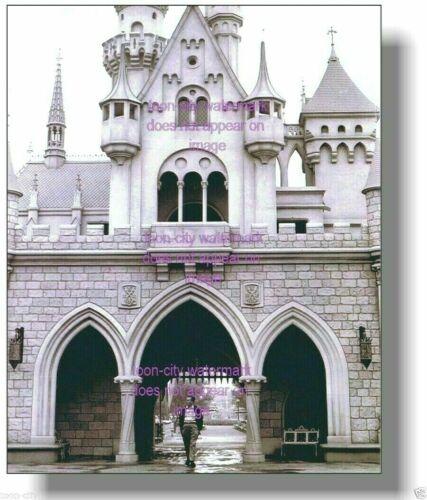 8x10 Walt Disney Disneyland Sleeping Beauty Castle 1955 NEW Luster Finish