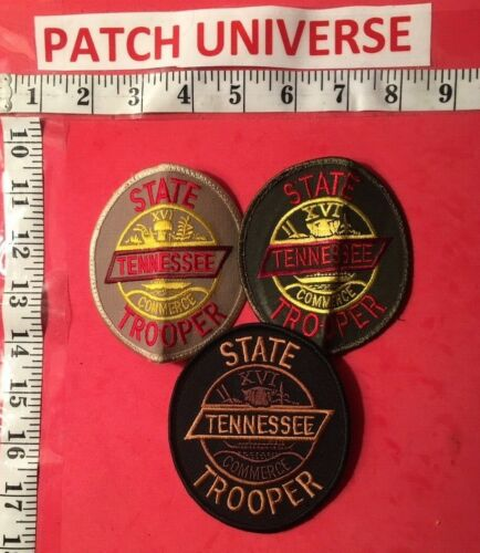 LOT OF THREE DIFFERENT TENN STATE TROPPER SHOULDER PATCHES P049