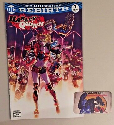 HARLEY QUINN #1 DC REBIRTH Color Variant Only 3000 Copies Made Near Mint