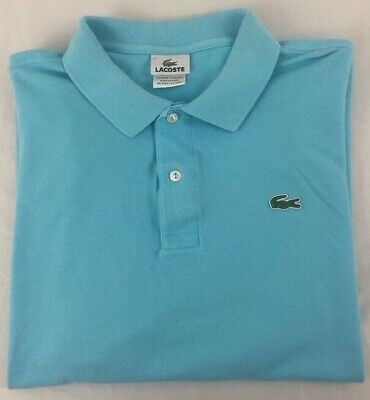 Lacoste Sz. XXL (7) Light Blue Polo Shirt!