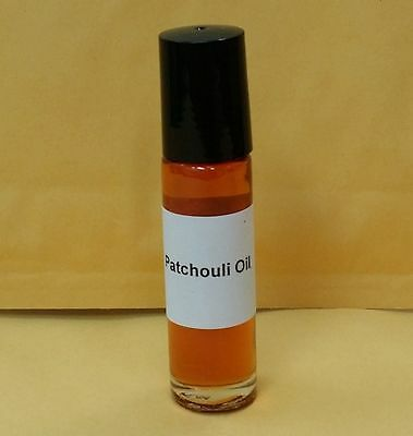 Patchouli Oil Body Fragrance Perfumed Scented 1/3 oz 10 ml Roll on Bottle