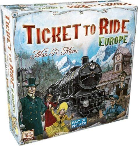 Days of Wonder Ticket to Ride - Europe Board Game