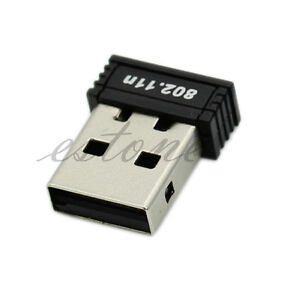 Mini-USB-WiFi-Wireless-150Mbps-150M-Adapter-Network-LAN-Card-802-11n-g-b-2-4GHz