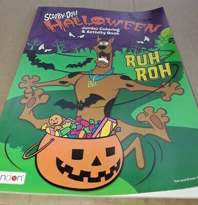 Daphne Scooby Doo Halloween (Scooby-Doo Halloween Coloring Activity Book 64 Pages Shaggy Fred Velma)