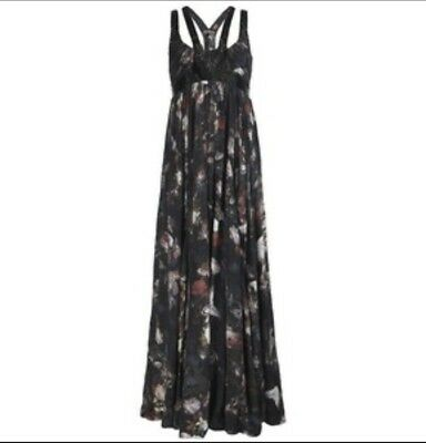 All Saints Lost Game Harness Maxi Dress Size 10 ()