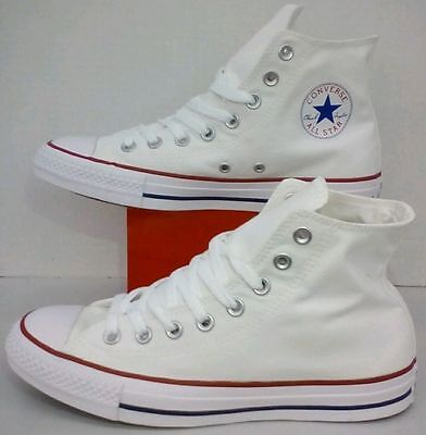 Chuck Taylor Hi Tops - Converse All Star Chuck Taylor Hi Top Canvas Optical White M7650 All Size