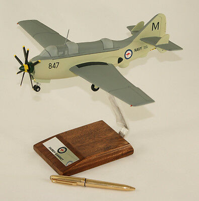 Used, RAN FAIREY GANNET LARGE 1:48 SCALE PRECISION HAND BUILT DESK TOP MODEL  for sale  Shipping to Canada