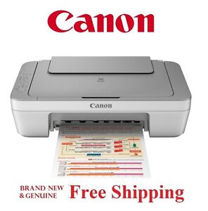 NEW Canon PIXMA MG2520 Inkjet All-in-One Printer *Ultra Compact and Quiet*