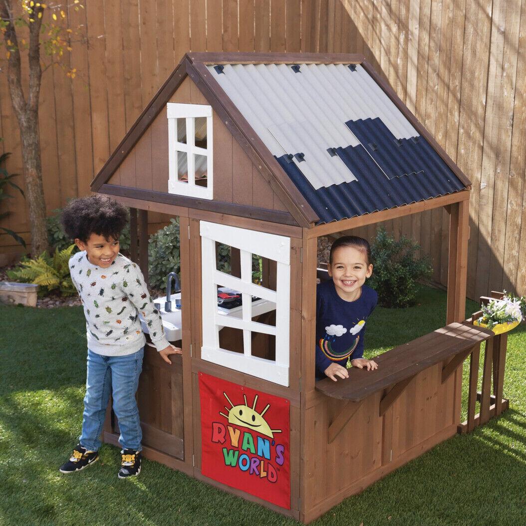 NEW KidKraft Ryan's World Outdoor Playhouse Kid Toy Birthday