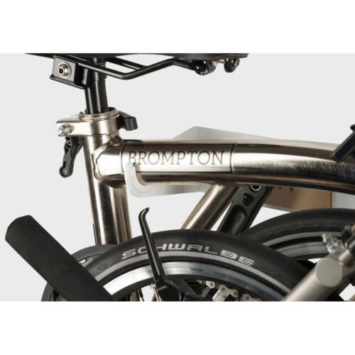 F+ Wall Mounted Rack for Foldable Brompton Bike Bicycle 40x20x10cm