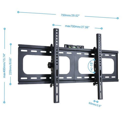"33"" - 75"" TV Wall Mount Tilt Feature Bracket 700 x 400mm VES"