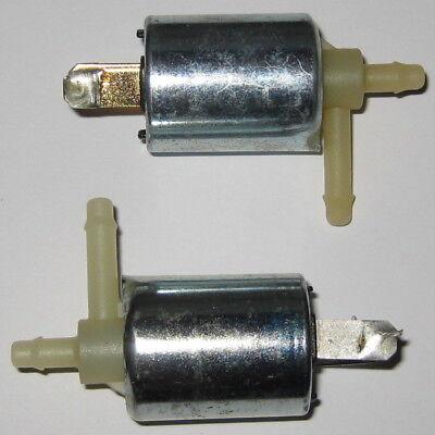 2 X Keurig 12v Pneumatic Solenoid Valve - 4 Psi - Sh-v0829 - Normally Closed