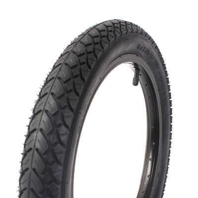 """KHE x UNITED 16"""" Zoll BMX Freestyle Reifen 2,125"""" Zoll schwarz nur 600g"""