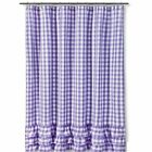 Gingham Country Shower Curtains