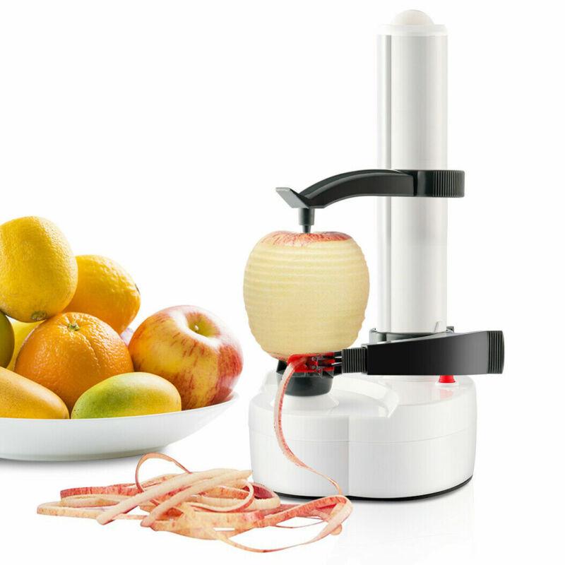 Automatic Electric Peeler Potato Fruit Apple Pear Home Kitchen Utensil
