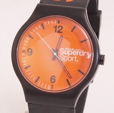 Superdry Sport Orange Dial SD046ORRK Quartz Gents Watch in GWO (X68)