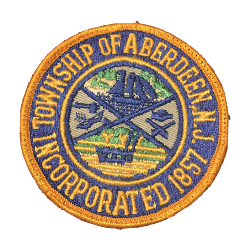 TOWNSHIP OF ABERDEEN PATROL NEW JERSEY NJ POLICE PATCH