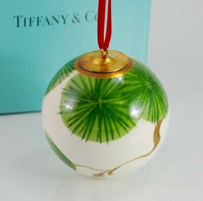 Tiffany & Co. Hand-Painted Italian Christmas Ornament ()