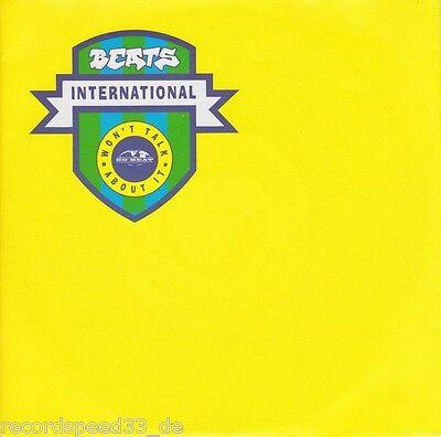 """★★ 7"""" - BEATS INTERNATIONAL - Won´t Talk About It"""