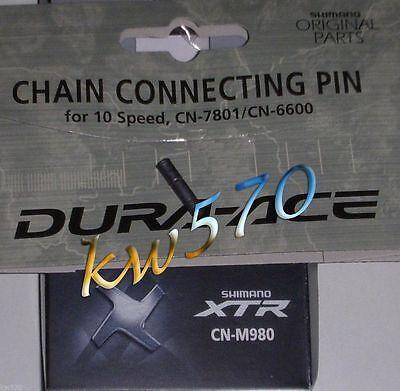 Shimano - Pin originale Shimano x catene 10 velocità/speeds - XTR/XT/DuraAce-NEW