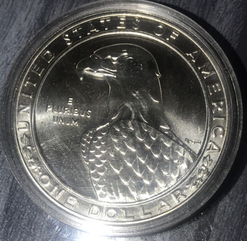 P1983: Proof 1983 S American Eagle Los Angeles Olympics  90% Silver Dollar Cltbl