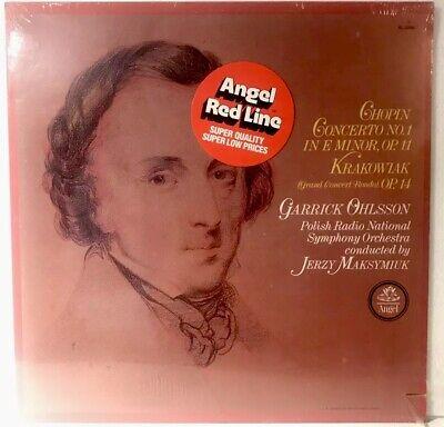 Chopin Concerto No 1 In E Minor Garrick Ohlsson Polish Radio Angel SQ RL32092