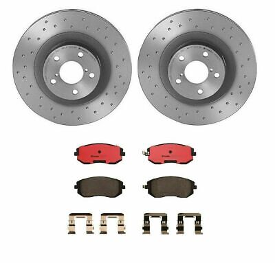 Ceramic Pads For FORESTER IMPREZA FRS LEGACY OUTBACK Front Brake Rotors