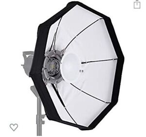 """Andoer 60"""" Foldable Beauty dish with Bowen's mount"""