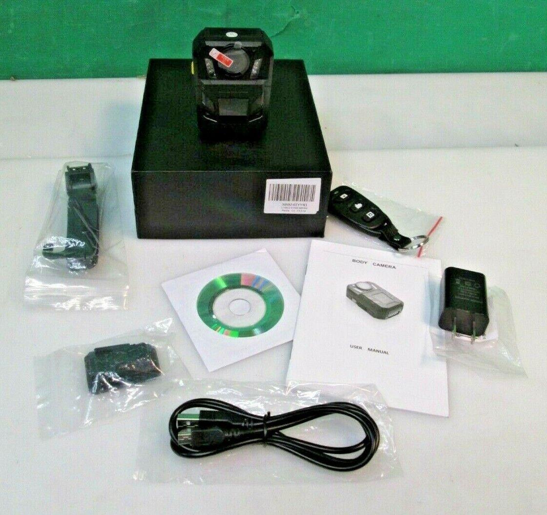 BOBLOV WA7-D Ultra HD 1296P 32GB Body Worn Camera Recorder V