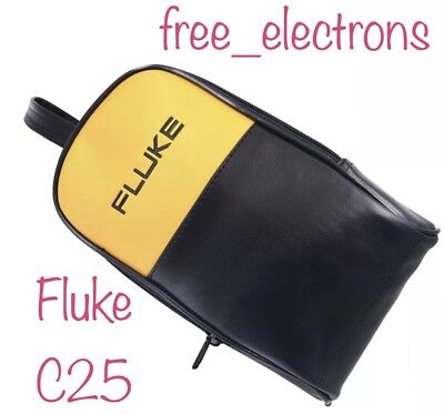 Fluke C25 Large Soft Case 115 116 117 789 787 179 85v 87v 51 52 80 1 2 Tl 224 71