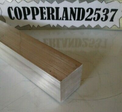 1-14 X 1-14 X 8 Long New 6061 Aluminum Plate Flat Stock Bar Block
