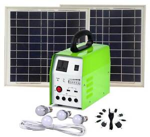 Solar Light Kit 20W with 4x LED Globes & 150W inBuilt AC inverter Shepparton Shepparton City Preview